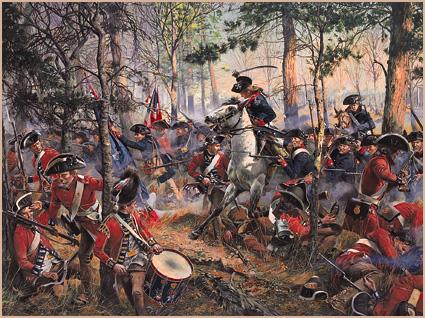 American Revolution Battles revolutionary war battles - years 1778 ...