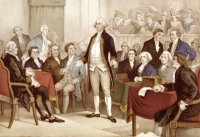 George Washington in Continental Congress