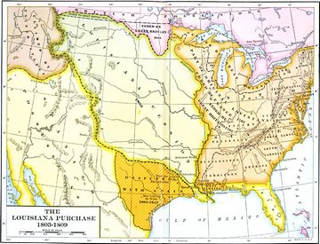 War Of Info - Map of us in 1812