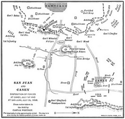 battle analysis of san juan hill Affordable history: the battle of san juan hill roosevelt wasn't pleased with this because it denied him the chance to fight another battle after san juan hill.